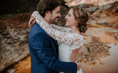Andrómeda, una boda que nos transporta a otra galaxia