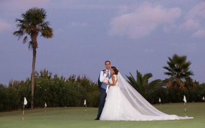Rocío y Miguel Ángel, una boda rodeada por las colinas de la Sierra Blanca
