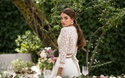 Conocemos a Ángeles Serrano. Atelier especializado en vestidos de novia.