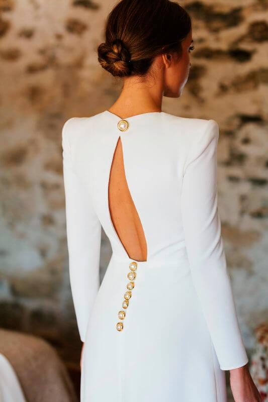 Ines - vestido de novia de Valenzuela