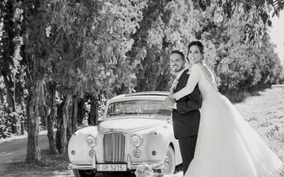 Alejandra y Tiquio, una preciosa boda en Huerto Montesinos