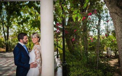 Nadia y Txetxu, una bonita boda en Hacienda Azahares