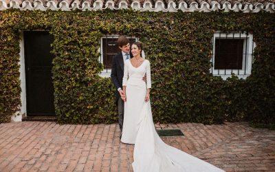 Lole y Julián, una preciosa boda en Hacienda de Clarevot