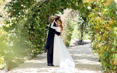 Marta y Pablo, una boda de ensueño en La Villa del Mentidero