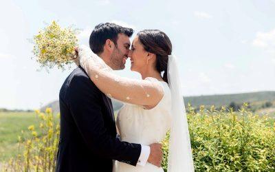 Ana y Óscar, una boda en la Finca Casa de Oficios de Madrid