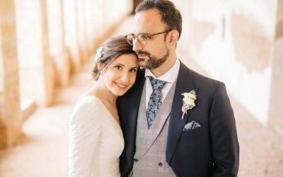 Patri y Jorge, una boda en la Cartuja de Ara Christi en Valencia
